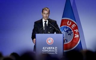 Aleksander Čeferin réélu à la tête de l'UEFA