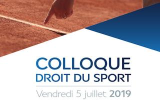 5 juillet 2019: Colloque sur la responsabilité civile et les assurances en matière sportive