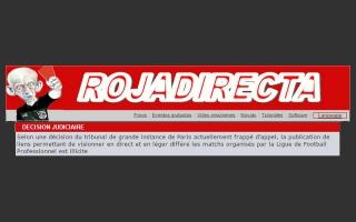 La LFP obtient la liquidation de l'astreinte prononcée à l'encontre de la société exploitant le site RojaDirecta